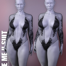 See Me II Suit for Genesis 8 Females image 8