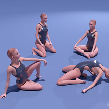 Assorted Poses for La Femme image 2
