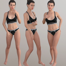 Standing Poses for G8F Part I image 1