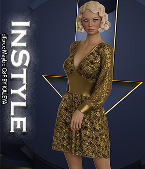 InStyle - dforce Maybe G8F 3D Figure Assets -Valkyrie-