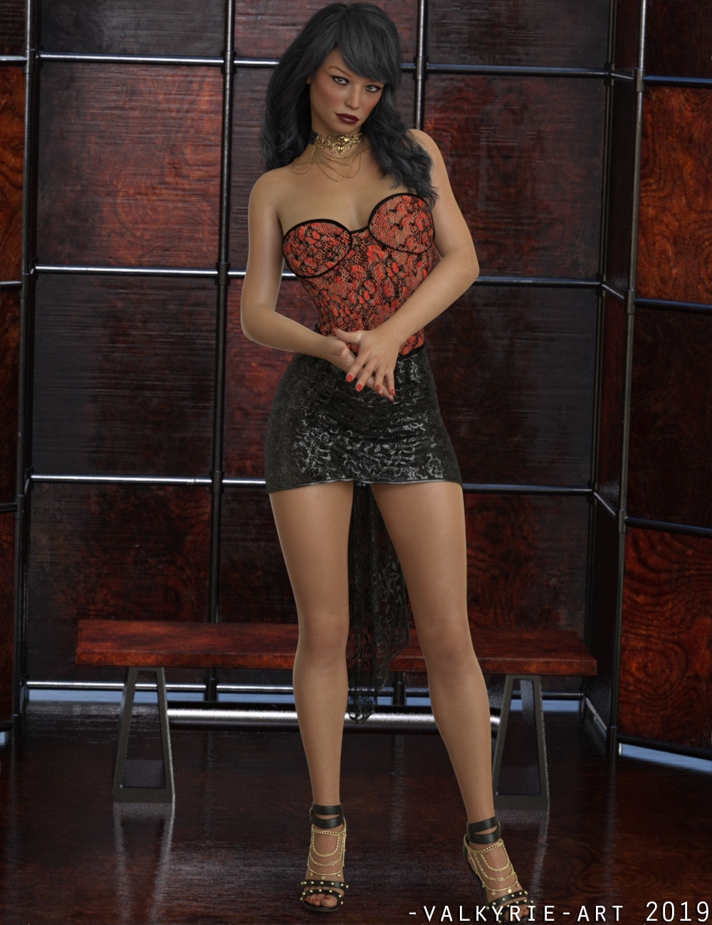 InStyle - JMR dForce Party Mini Dress for G8F by -Valkyrie-
