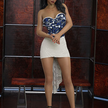InStyle - JMR dForce Party Mini Dress for G8F image 2