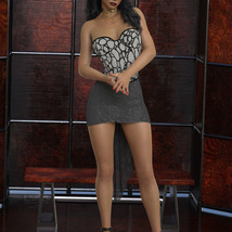 InStyle - JMR dForce Party Mini Dress for G8F image 4