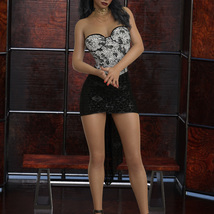 InStyle - JMR dForce Party Mini Dress for G8F image 5