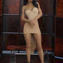 InStyle - JMR dForce Party Mini Dress for G8F image 6