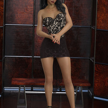 InStyle - JMR dForce Party Mini Dress for G8F image 8