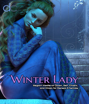 DC-Winter Lady for Genesis 8 Female 3D Figure Assets Deecey