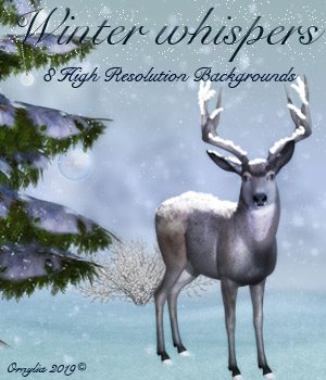 Winter whispers 2D Graphics ornylia