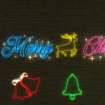 Neon Christmas - Extended License image 5