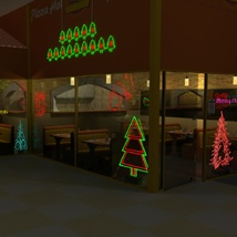 Neon Christmas - Extended License image 7