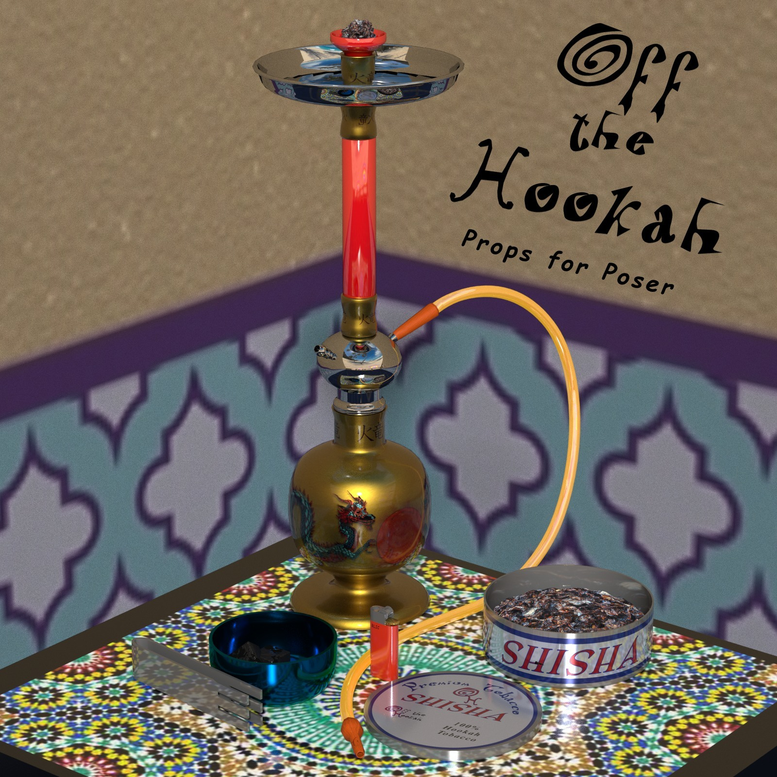 Off the Hookah by 3DFineries
