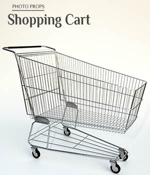 Photo Props: Shopping Cart - Extended License 3D Models Extended Licenses ShaaraMuse3D