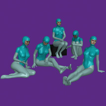 20 Sitting Poses for G8F image 1