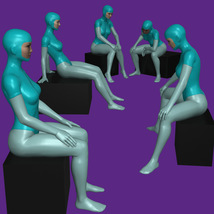 20 Sitting Poses for G8F image 3