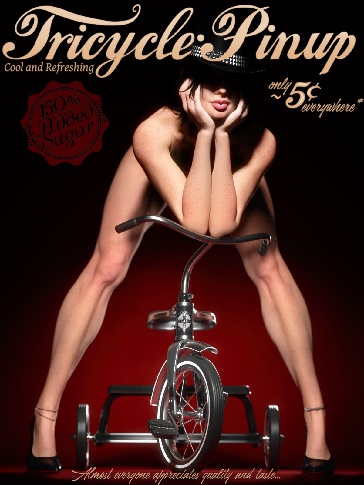 Tricycle Pinup for La Femme