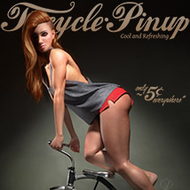 Tricycle Pinup for La Femme image 1