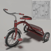 Tricycle Pinup for La Femme image 4