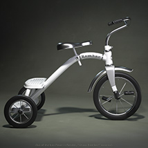 Tricycle Pinup for La Femme image 7