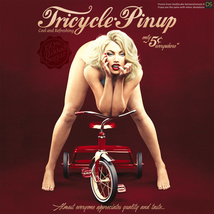 Tricycle Pinup for La Femme image 11