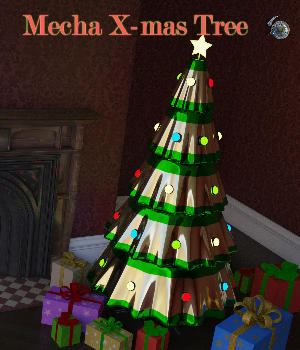 Mecha X-mas Tree 3D Models SilentWinter