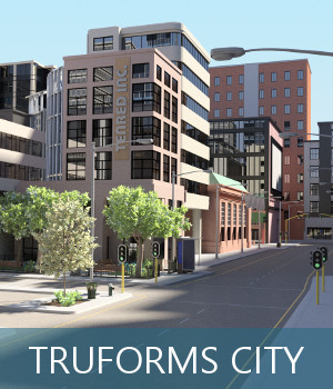 TruForms City 3D Models TruForm