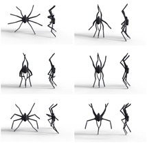 Spider Poses for G8M image 1