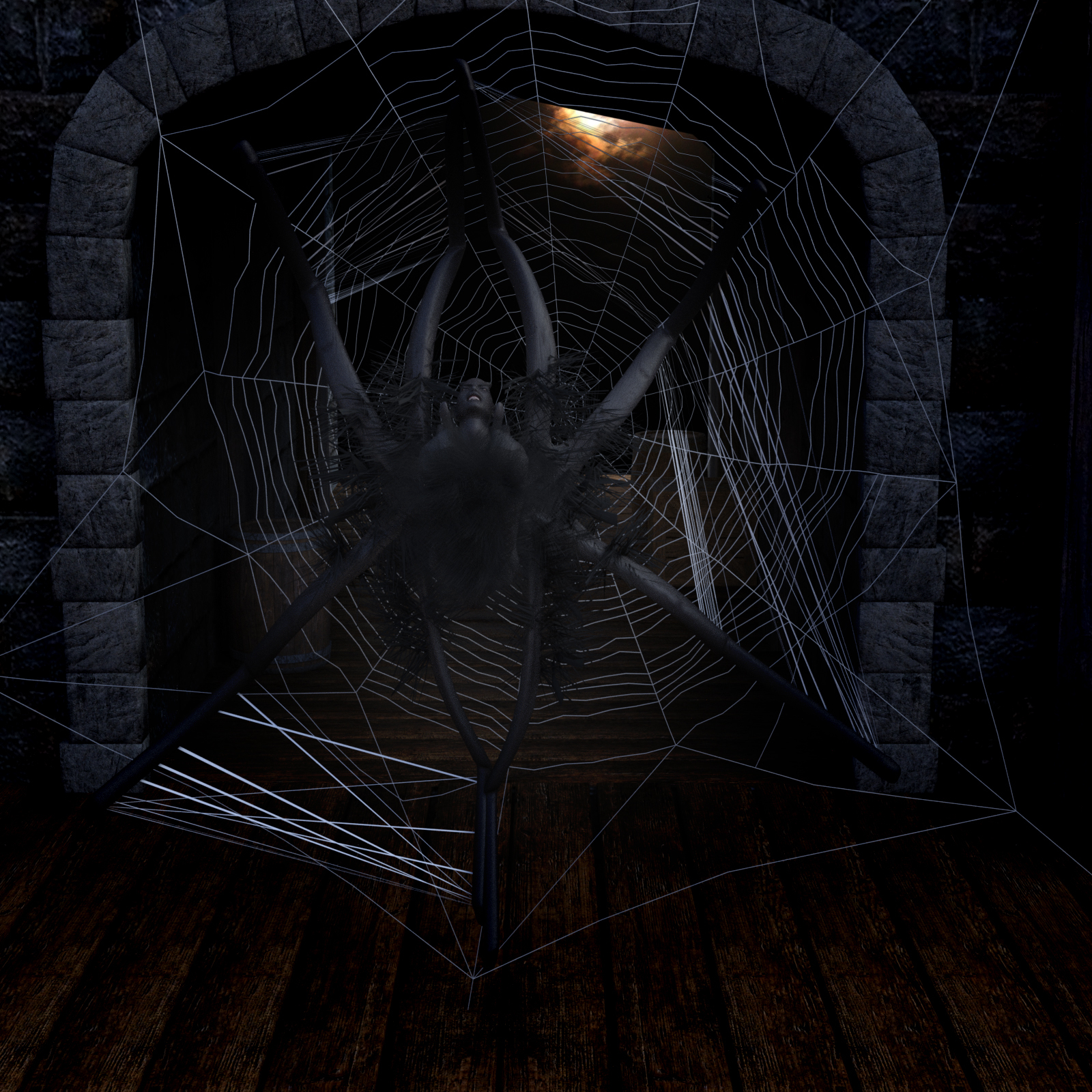 Spider Webs Addon for G8M