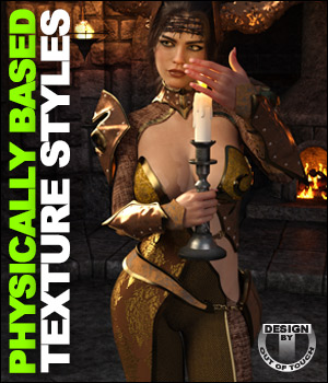 OOT PBR Texture Styles for Hellen Outfit 3D Figure Assets outoftouch