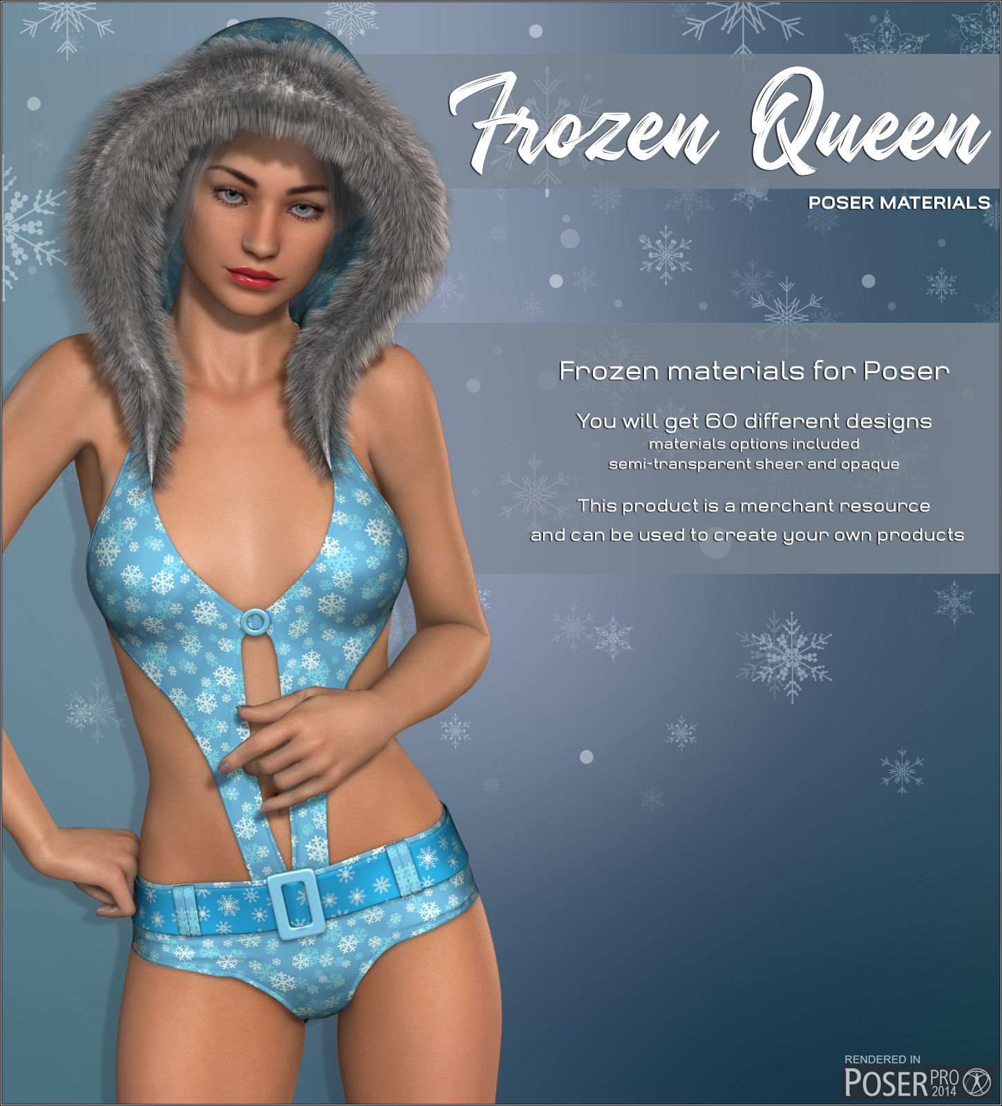 Poser - Frozen Queen by Atenais