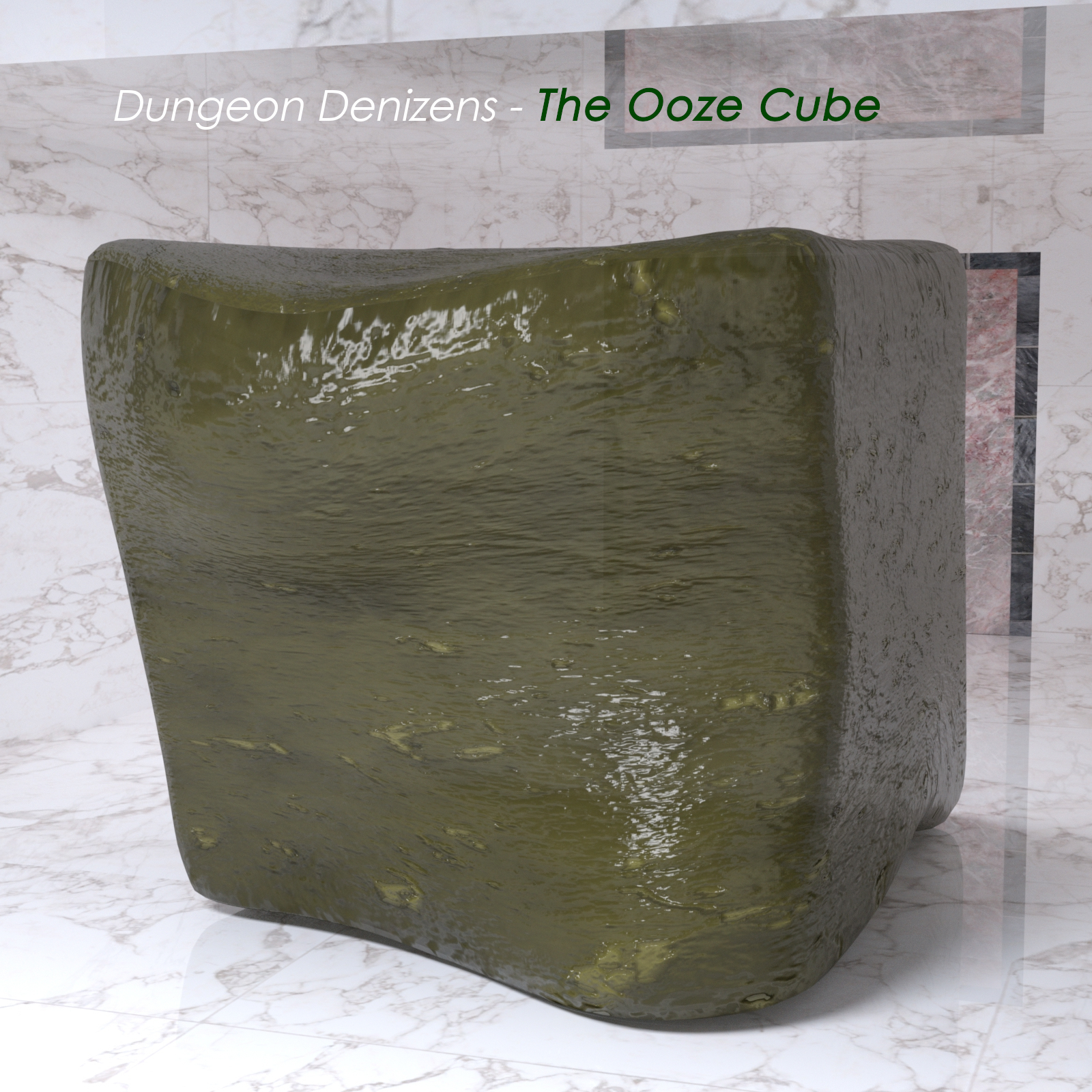 Dungeon Denizens - The Ooze Cube