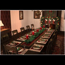 Christmas Dining Room image 1