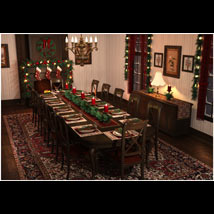 Christmas Dining Room image 2