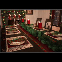 Christmas Dining Room image 3