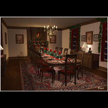 Christmas Dining Room image 4