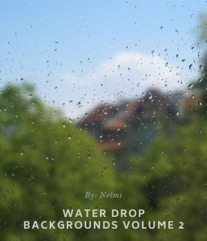 10 Water Drop Backgrounds Volume 2 2D Graphics Merchant Resources nelmi