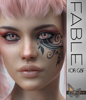MDD Fable for G8F - IRAY ONLY  3D Figure Assets Maddelirium