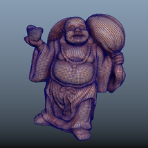 Buddha-Photoscanned Pbr - Extended License image 4