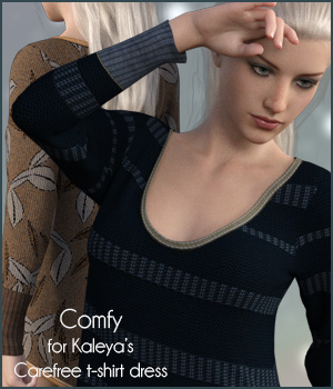 Comfy for Carefree G8F 3D Figure Assets antje