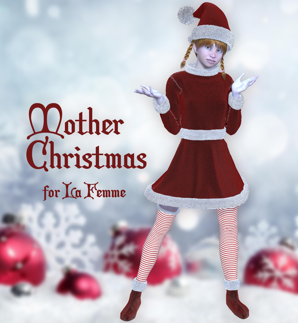 Mother Christmas for La Femme by Tipol