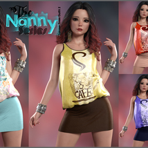 The Nanny Series: Summer Town Outfit 2 G8F image 1