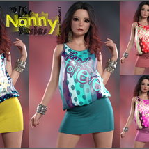 The Nanny Series: Summer Town Outfit 2 G8F image 2