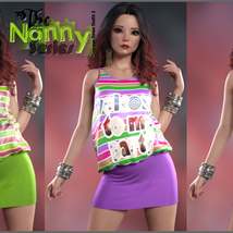 The Nanny Series: Summer Town Outfit 2 G8F image 3