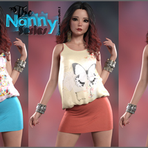 The Nanny Series: Summer Town Outfit 2 G8F image 4