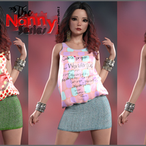 The Nanny Series: Summer Town Outfit 2 G8F image 6