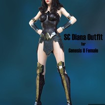 SC Diana Outfit for Genesis 8 Female image 2