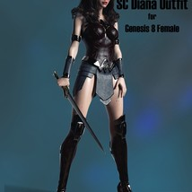 SC Diana Outfit for Genesis 8 Female image 3
