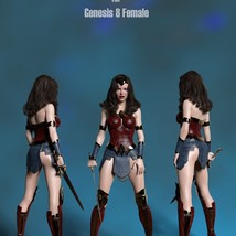 SC Diana Outfit for Genesis 8 Female image 5