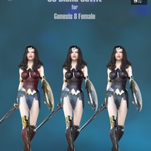 SC Diana Outfit for Genesis 8 Female image 7