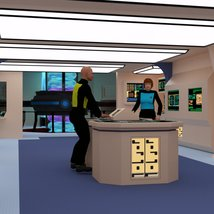 Starship Engineering Room 2 for DAZ Studio image 2