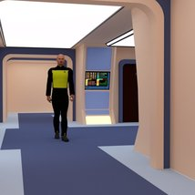 Starship Engineering Room 2 for DAZ Studio image 3